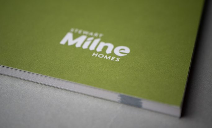 Printed and Finished brochure for Stewart Milne Homes
