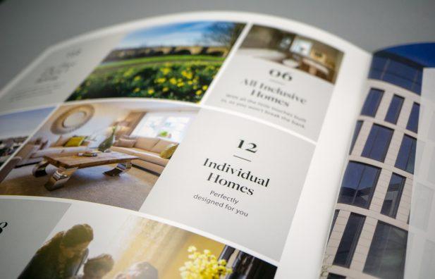 Premium brochure for Bancon homes