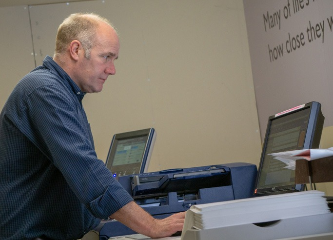 Setting up Digital Printer