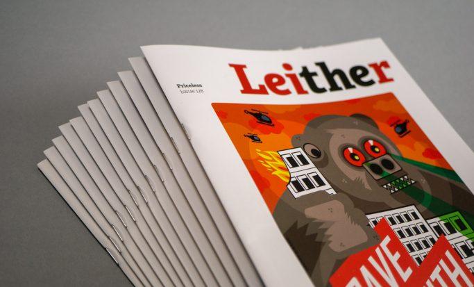 Publication of the Leither, a print magazine for Leith, Edinburgh